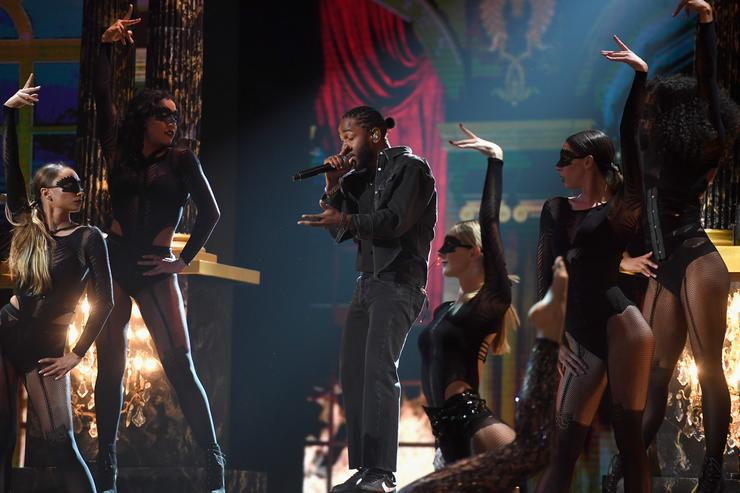 Kendrick Lamar BET Awards 2017