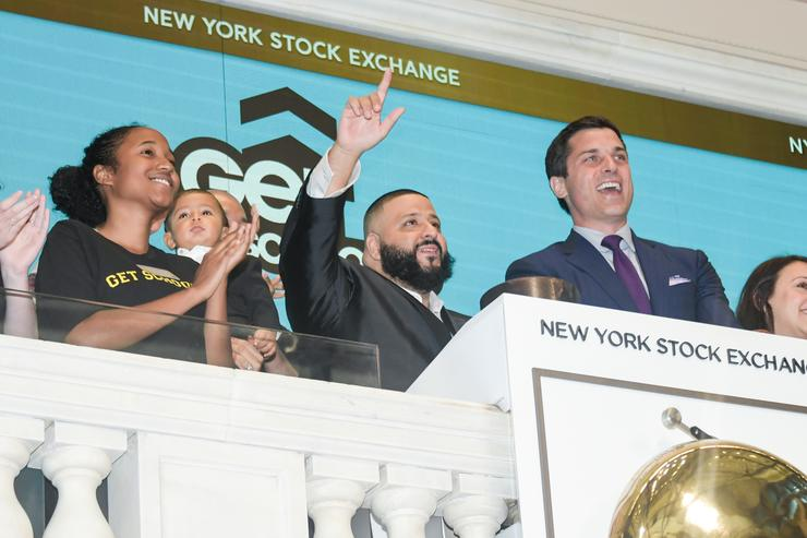 DJ Khaled Visits The New York Stock Exchange Opening Bell To Promote The Get Schooled 'Keys To Success' Campaign