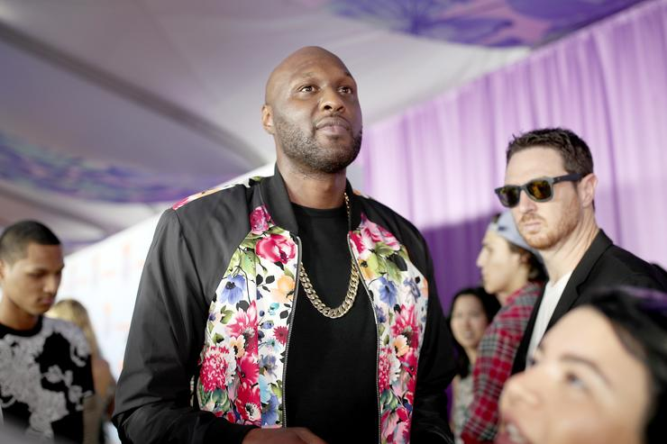 Lamar Odom Nickelodeon's 2017 Kids' Choice Awards - Red Carpet