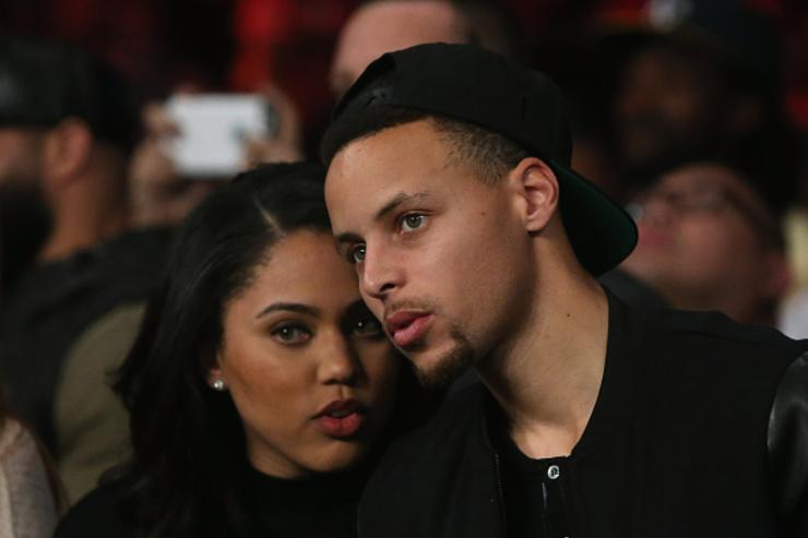 Ayesha x Steph Curry