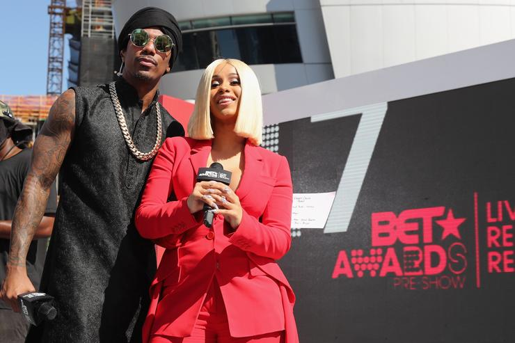 Cardi B 2017 BET Awards - Pre-Show - Live! Red! Ready!