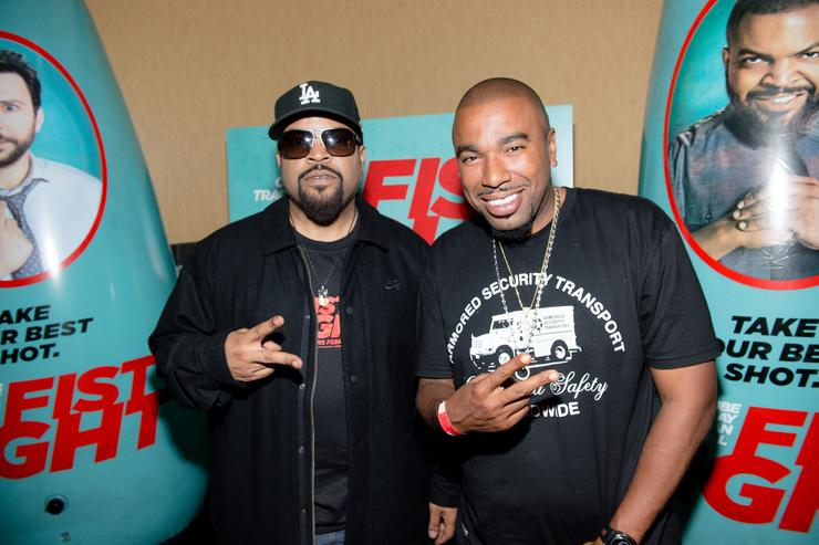 N.O.R.E FIST FIGHT Atlanta VIP Screening With Cast Member Ice Cube