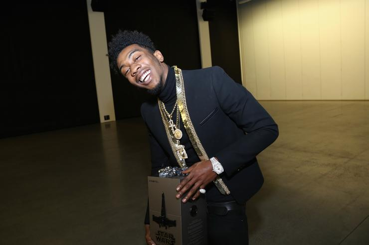 Desiigner Def Jam Teams Up With Propel Star Wars Battle Drones For Holiday Party