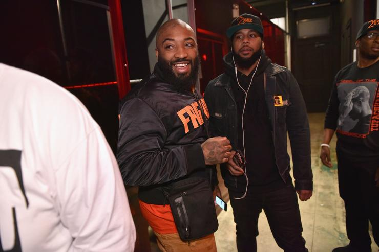 A$AP Bari Tupac's Powamekka Cafe And Tupac By Vlone Store Opening