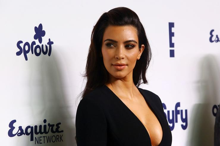 Kim Kardashian 2014 NBCUniversal Cable Entertainment Upfronts