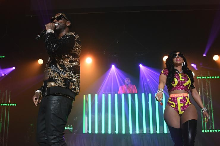 Gucci Mane & Keyshia Ka'oir at Homecoming concert