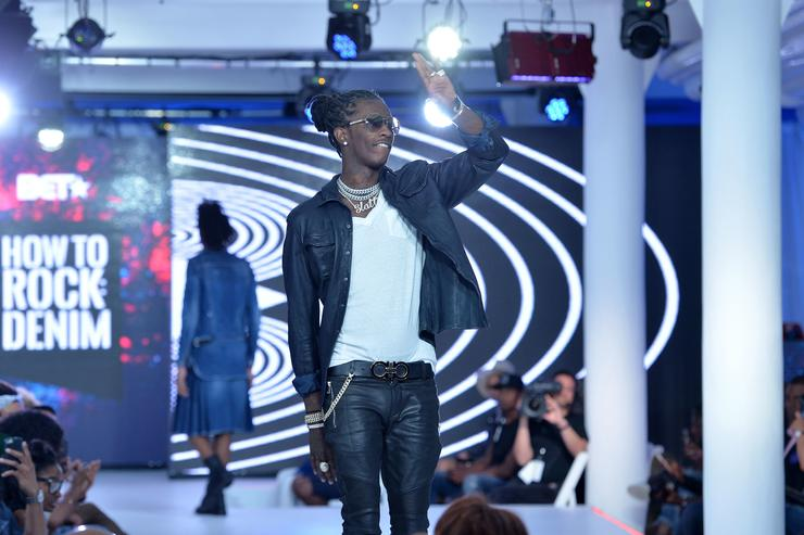 Young Thug BET How To Rock: Denim - Show
