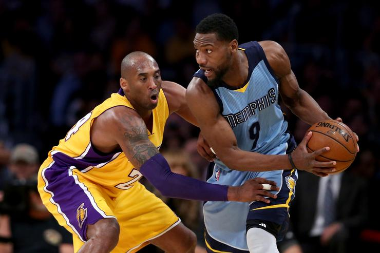 Tony Allen Memphis Grizzlies v Los Angeles Lakers