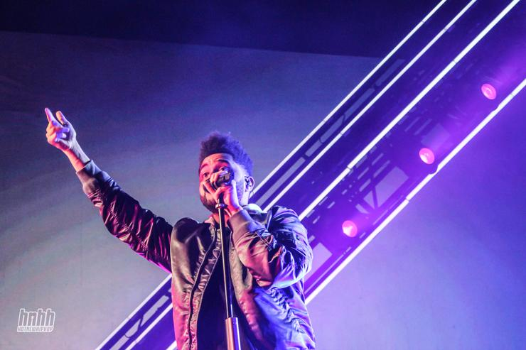 The Weeknd at Osheaga 2017