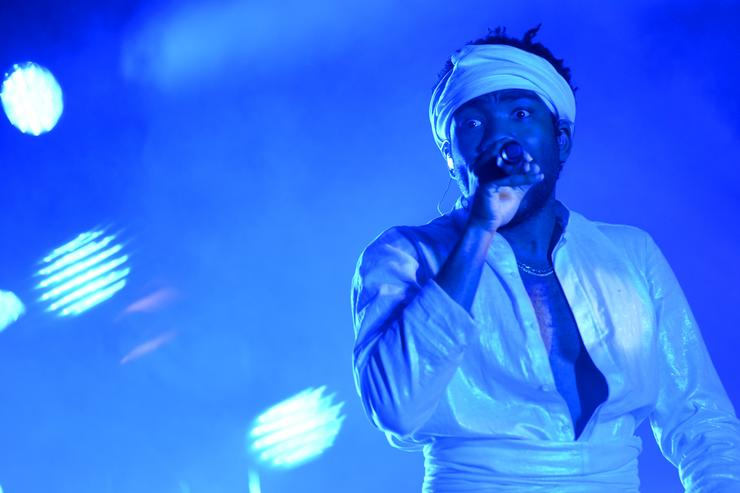 Donald Glover at Governor's Ball 2017