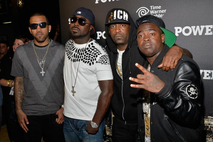 "Young Buck, Lloyd Banks, Tony Yayo & Kidd Kidd at ""Power"" Premiere"