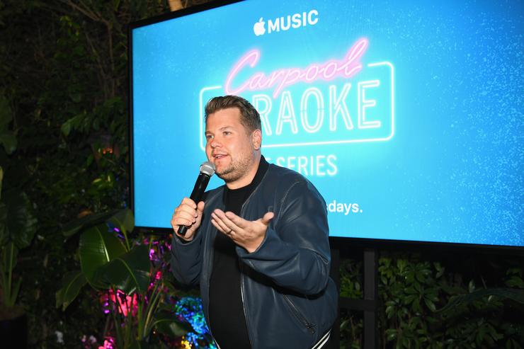 James Corden Apple Music Launch Party Carpool Karaoke: The Series With James Corden