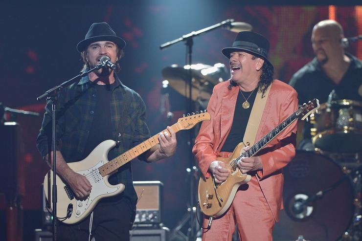 Carlos Santana 2015 Billboard Latin Music Awards - Show