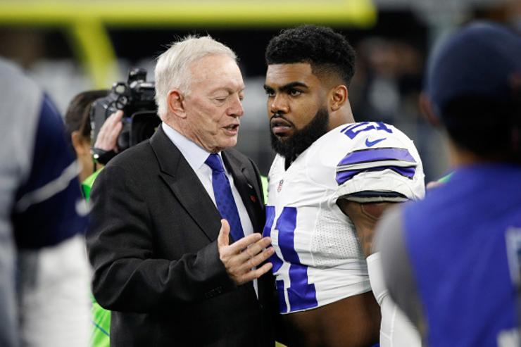 Jerry Jones x Ezekiel Elliott