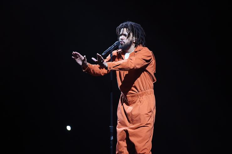 J. Cole in Concert in Brooklyn NYC