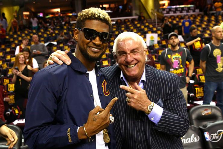 Ric Flair x Usher