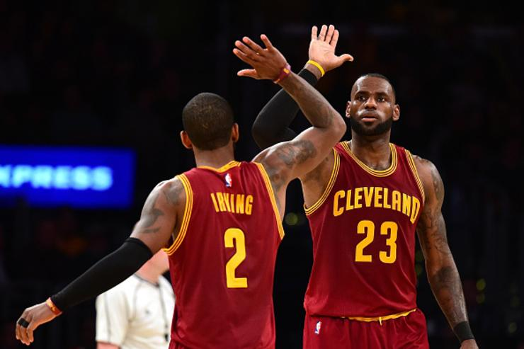 LeBron James x Kyrie Irving