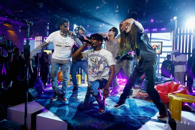 A$AP Mob at MTV