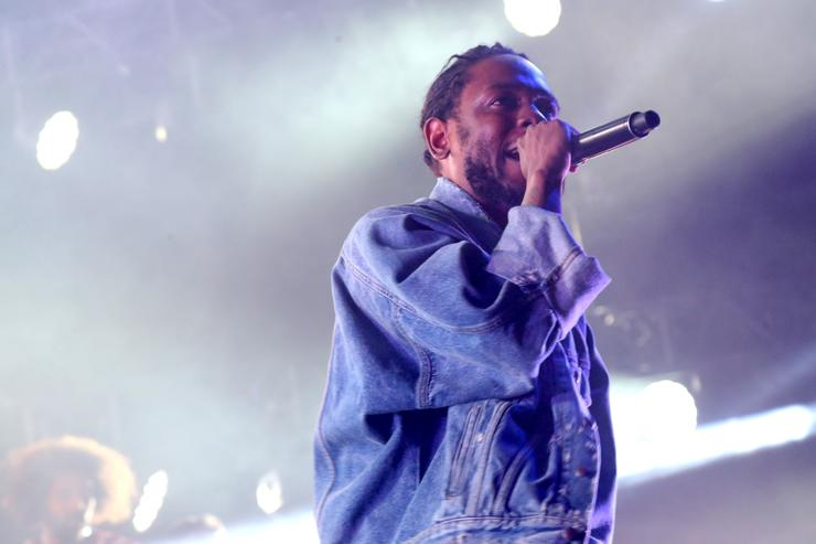 Kendrick Lamar at 2017 BET Experience