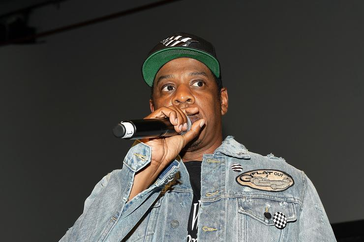 Jay Z at Vic Mensa's listening event