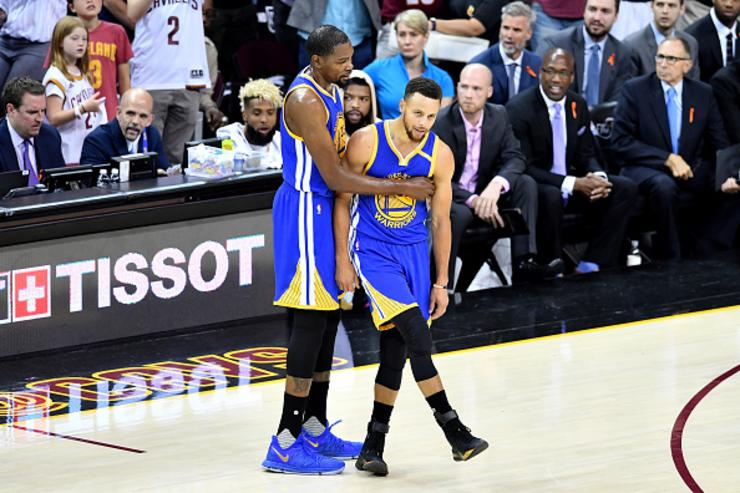 Kevin Durant x Steph Curry