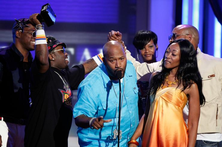 Bun B, Chinara, Big Boi at 2008 BET Awards