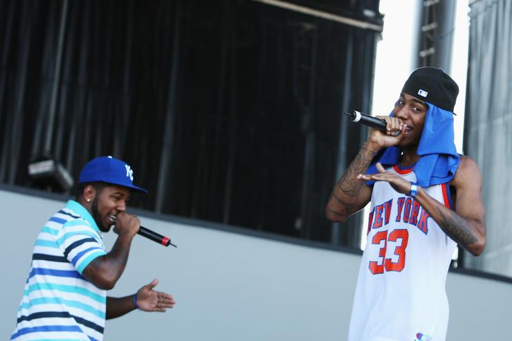 The Cool Kids Perform At All Points West Music Festival in 2009