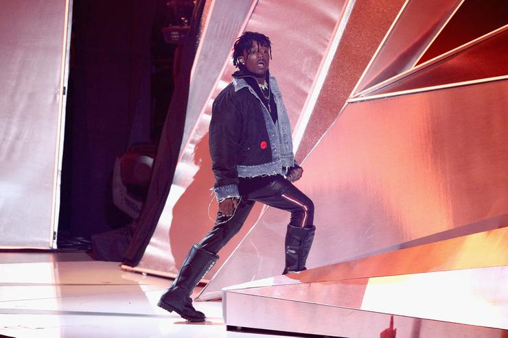 Lil Uzi Vert performs at 2017 VMA's