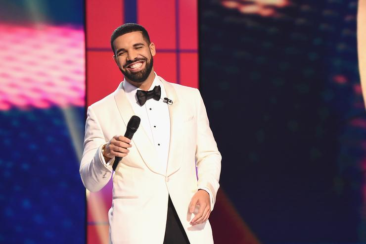Drake at the NBA Awards Live 2017