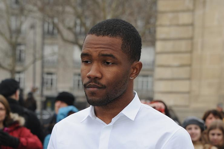 Frank Ocean at Paris Fashion Week