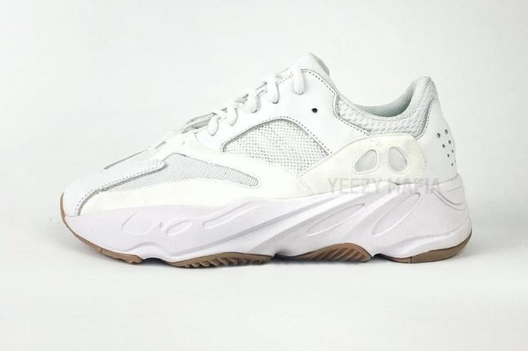 White/Gum Yeezy Boost Wabe Runner 700