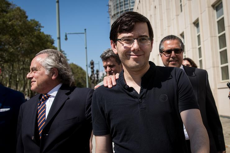 Martin Shkreli at trial for security fraud