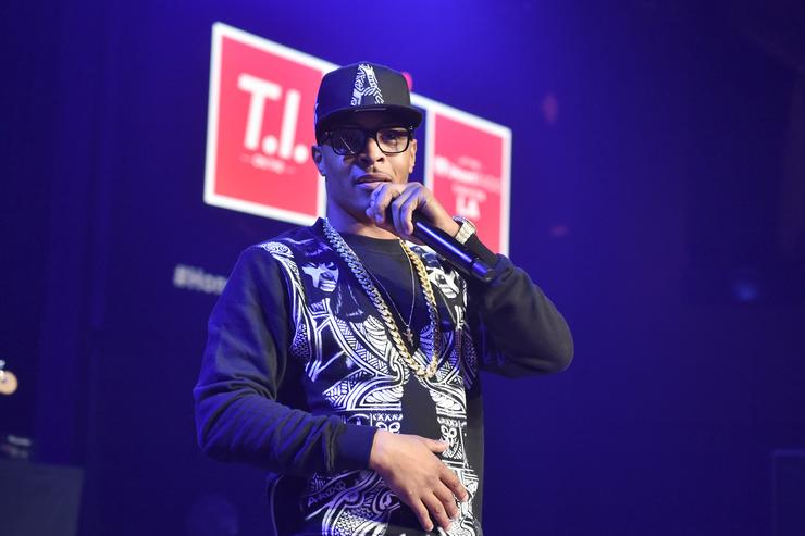 T.I. On The Honda Stage At The iHeartRadio Theater Los Angeles