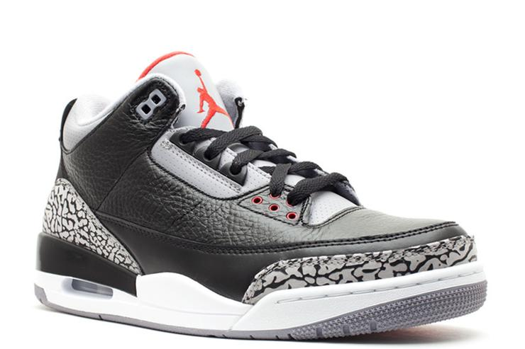 Black Cement Air Jordan 3