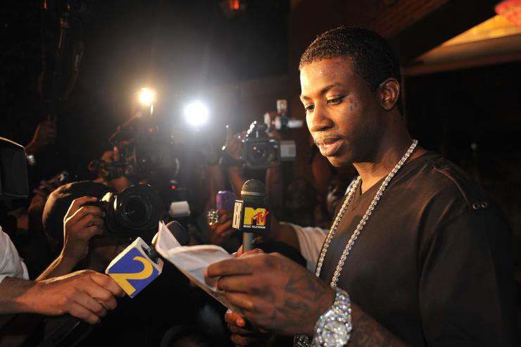 Gucci Mane Press Conference To Announce Plans For The Future