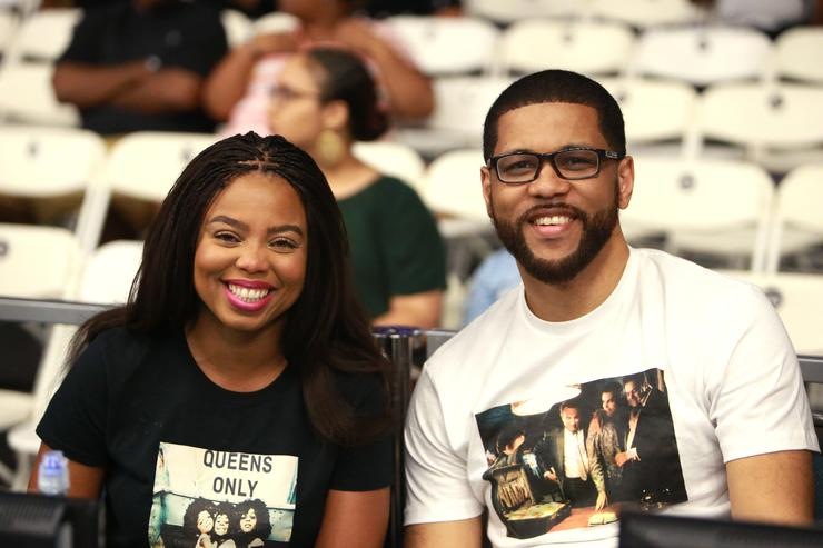 Jemele Hill & Michael Smith at 2017 BET Experience
