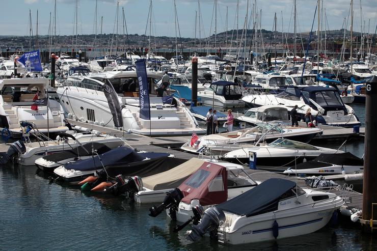 Bikes, Cars And Yachts On Display As Part Of Torquay's Super Festival