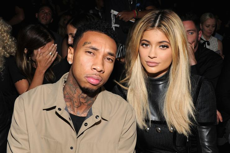 Tyga & Kylie Jenner at Alexander Wang Fashion Show