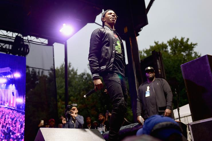 A Boogie Wit Da Hoodie at 2017 Made In America Festival