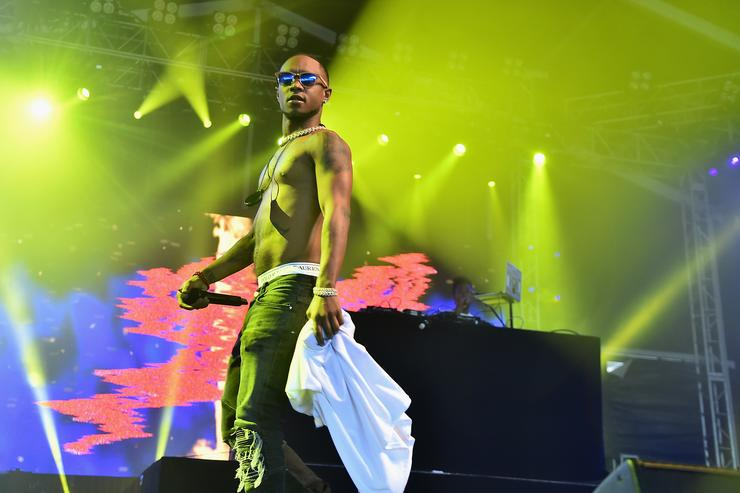 Slim Jxmmi at 2017 Governors Ball