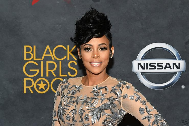 Keyshia Ka'oir at 2017 Black Girls Rock Event