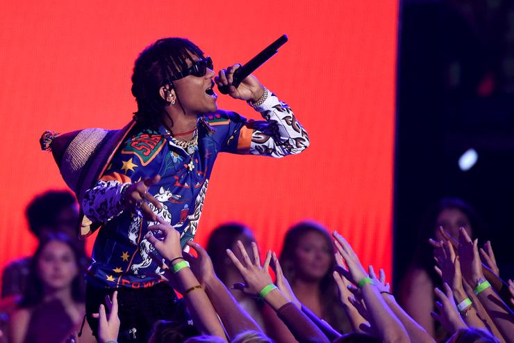Swae Lee at 2017 Teen Choice Awards
