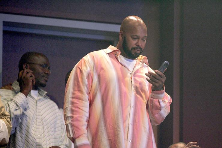 Suge Knight at 2005 BET Awards