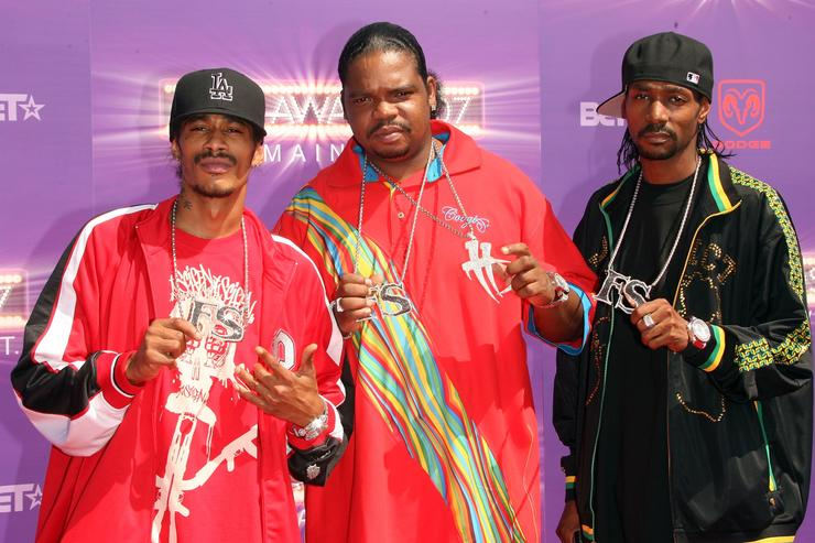 Bone Thugs N Harmony 2007 BET Awards - Arrivals