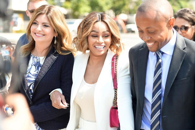 Lisa Bloom Holds Pre-Court Hearing Press Conference With Her Client Blac Chyna