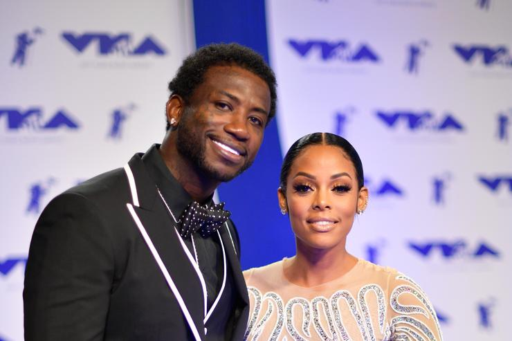 Gucci Mane & KEyshia Ka'oir at MTV Awards