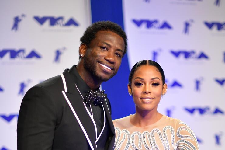 Gucci Mane & KEyshia Ka'Oir at MTV Music Awards