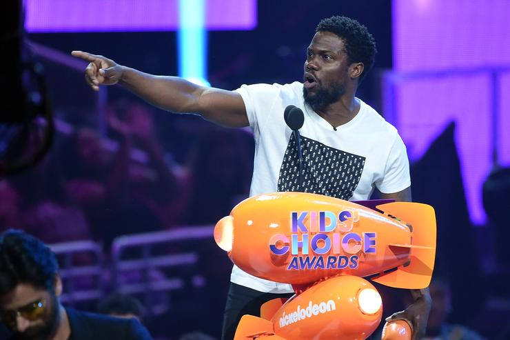 Kevin hart 2017 Nick awards