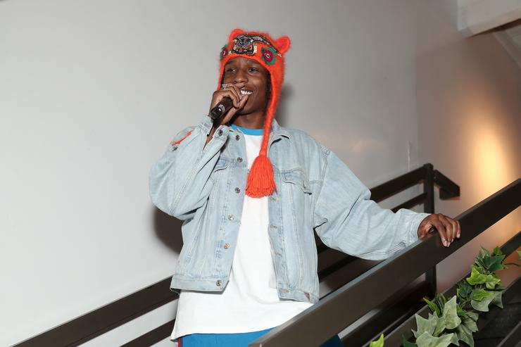 A$AP at Guess event