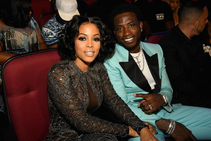 Keyshia Ka'oir and Gucci Mane together at the BET Awards